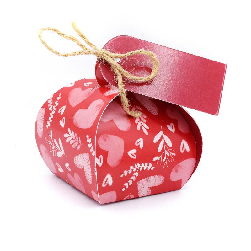 Geschenkverpakking (klein) (10 stuks)- Hartjes